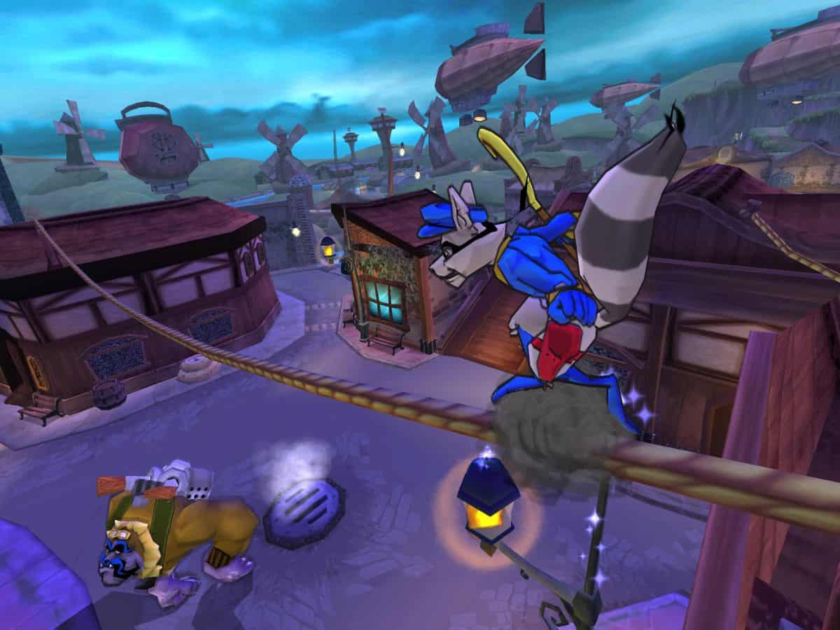 Sly 3 Honor Among Thieves game