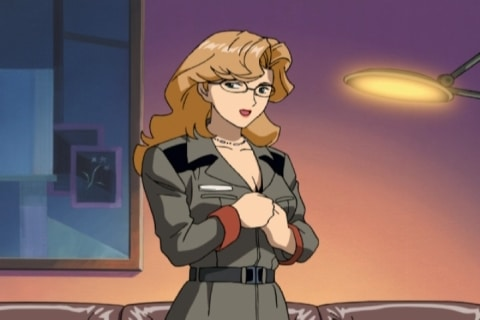 a character from Mobile Suit Gundam: Lost War Chronicles game