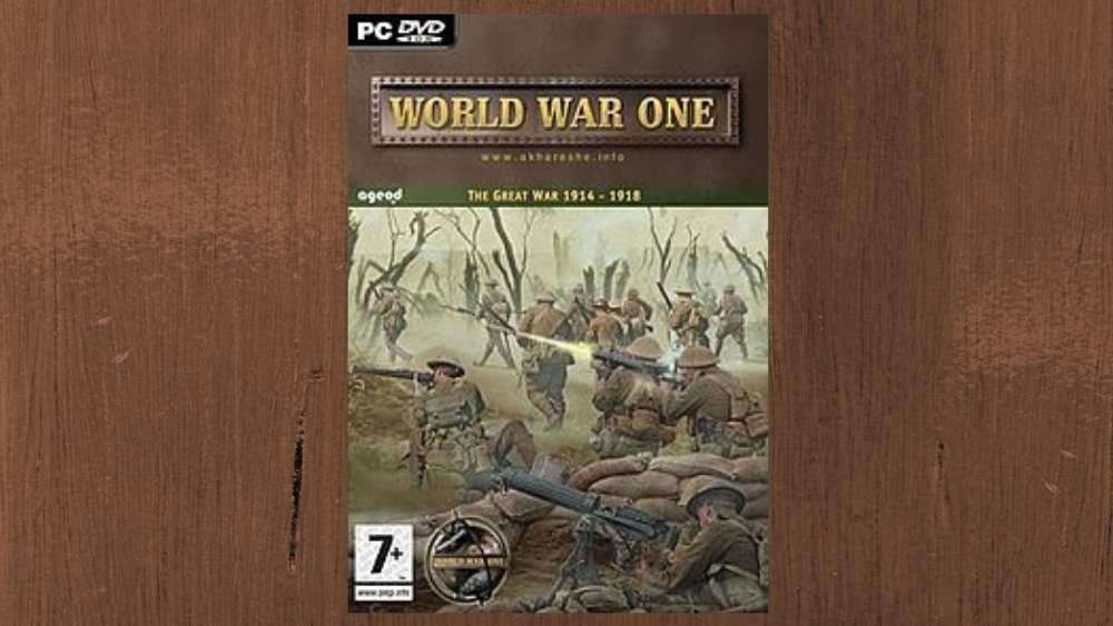PC cover of World War One game