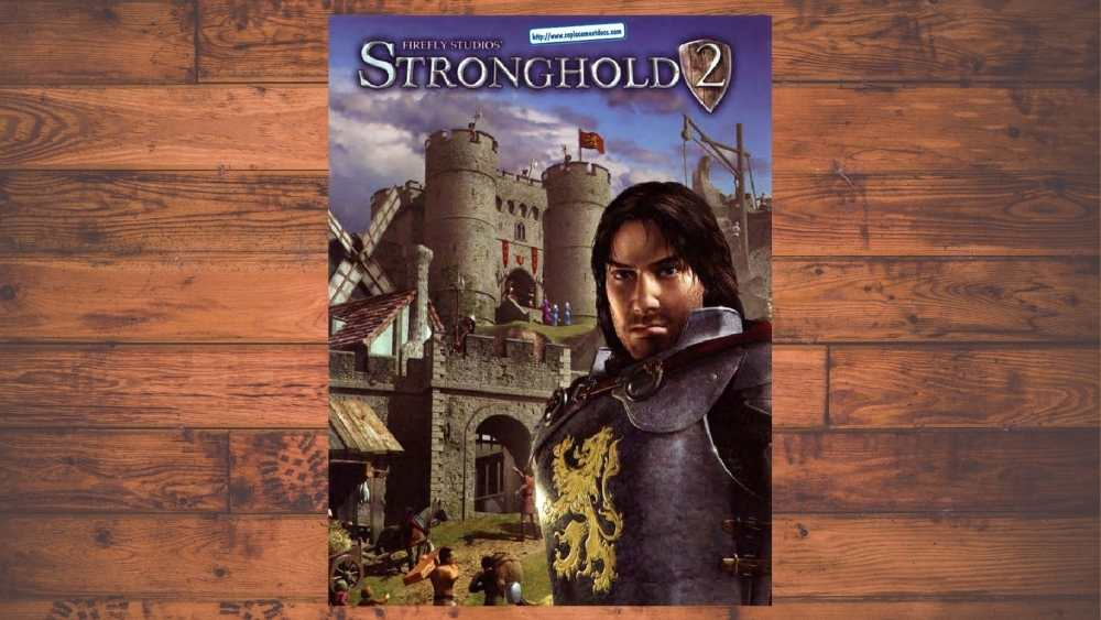 PC cover of Stronghold 2 game