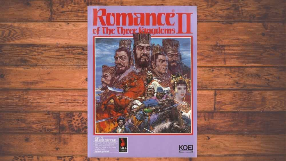 cover of Romance of the Three Kingdoms II game