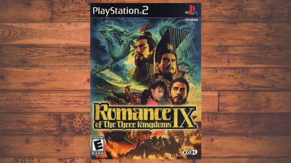 PS2 cover of Romance of the Three Kingdoms IX game