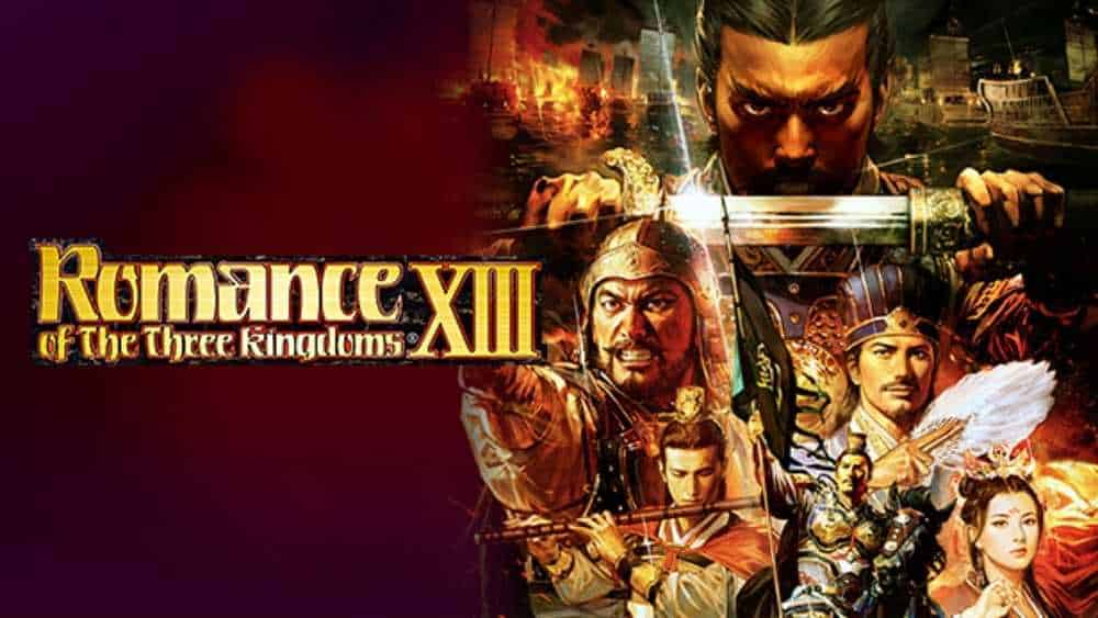 cover image of Romance of the Three Kingdoms XIII game