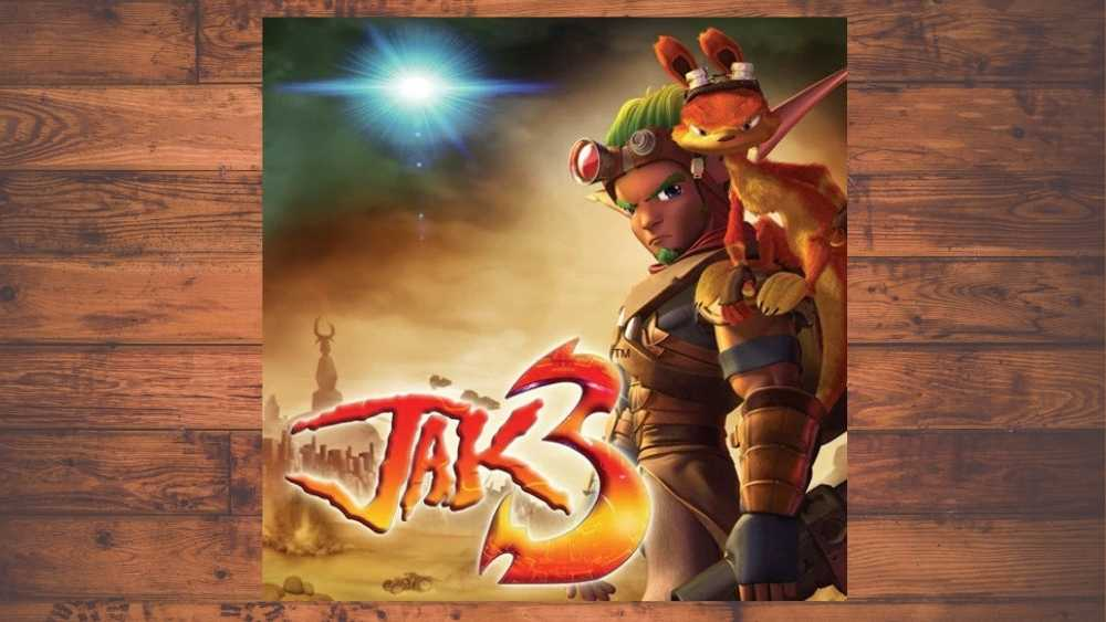 cover image of Jak 3 game