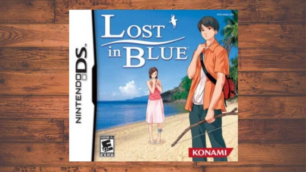 Nintendo cover of Lost in Blue game