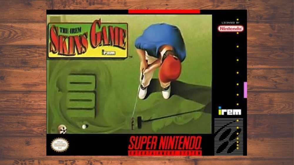 Nintendo cover of The Irem Skins Game